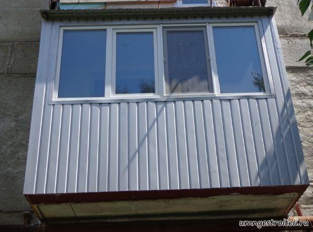Застекление балкона.