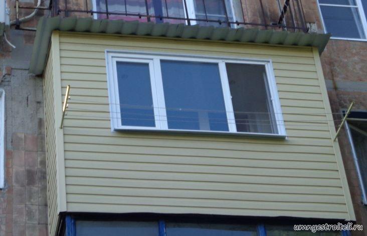 Сколько стоит облицевать балкон сайдингом во владикавказе..