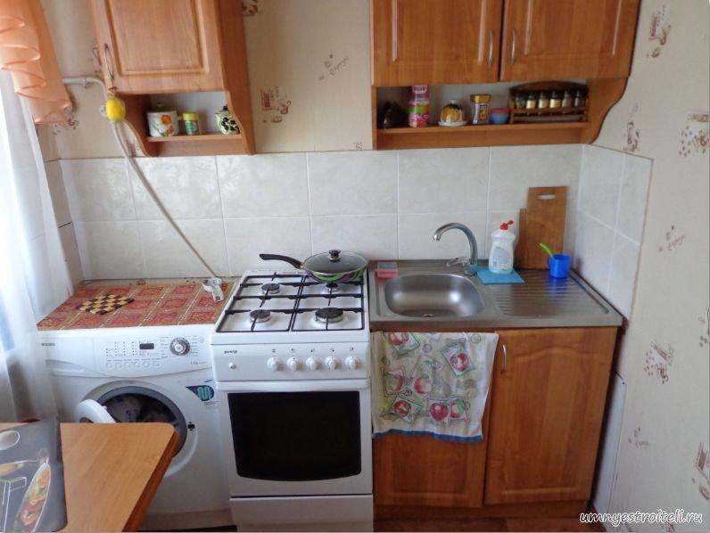 фото ремонт небольшой кухни