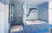 Плитка мозаика для ванной.
