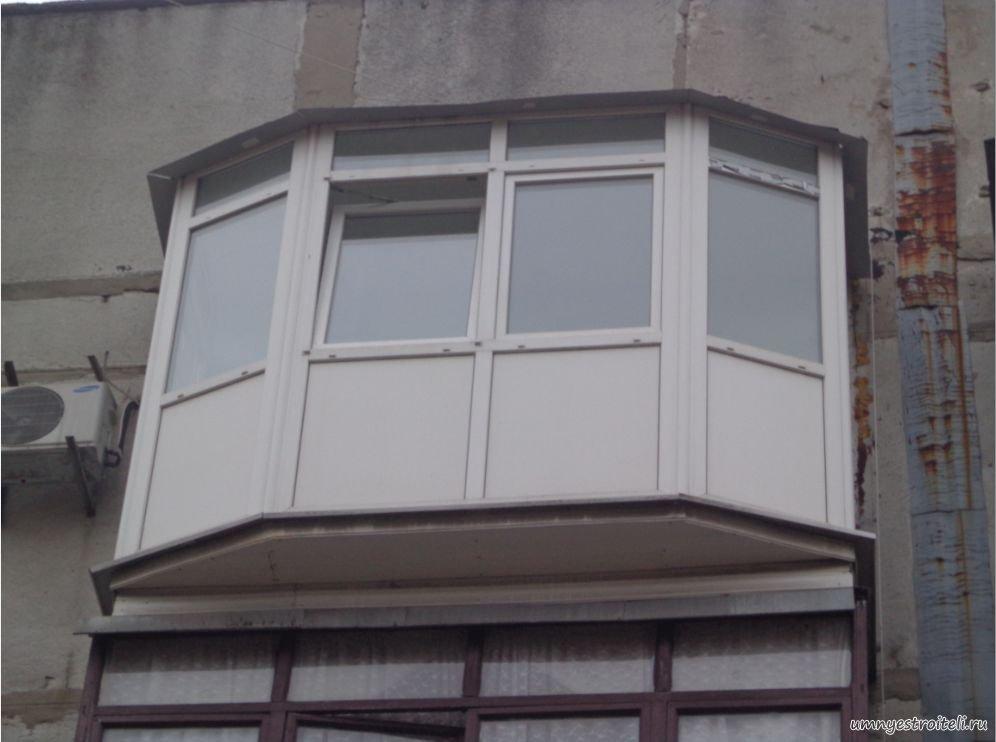 Смотреть фото выносного балкона.