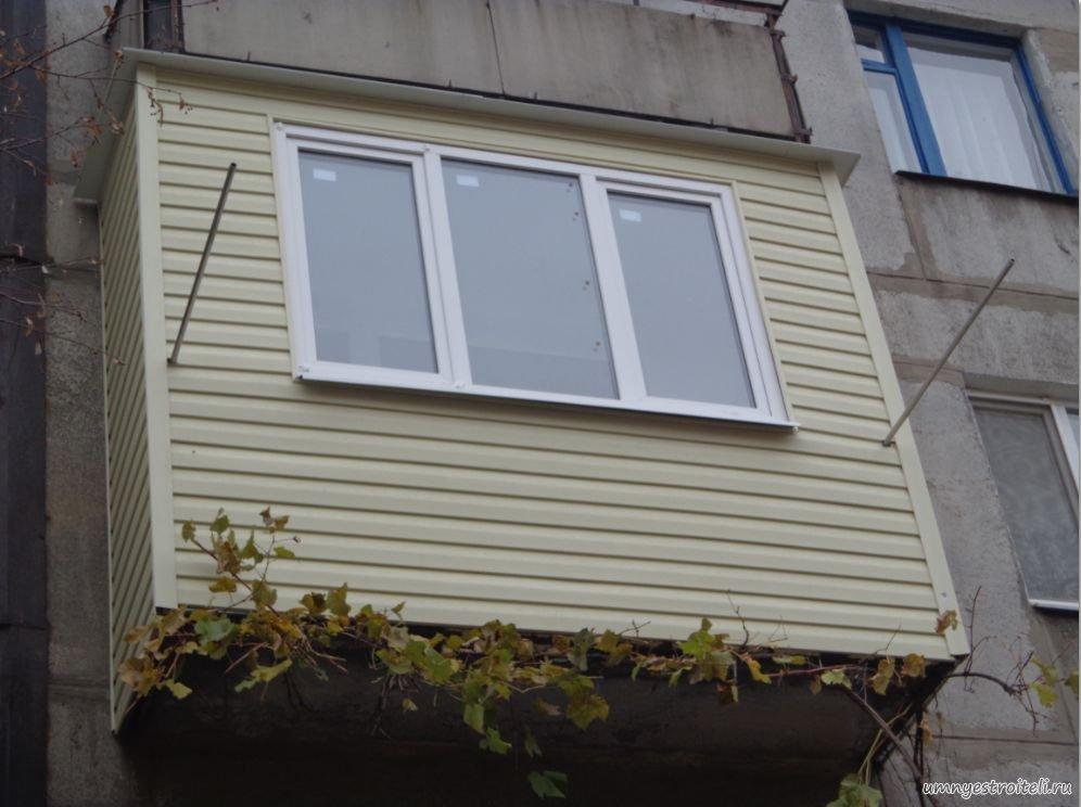 балконы из металлопрофиля фото