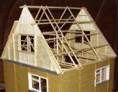 Отделка фронтонов крыши, своего дома.