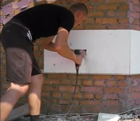 Видео утепление фасада пенопластом своими руками видео
