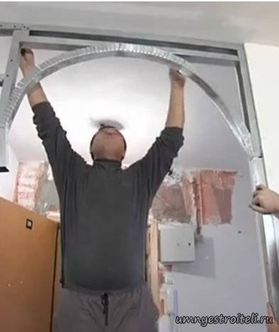 Как самому сделать дверные арки