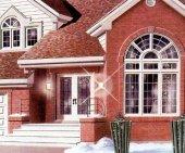 План дома двухэтажного с парадной лестницей.