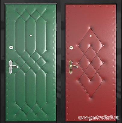 Купить обивку для входных дверей