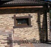 Отделка фасадов декоративным камнем.