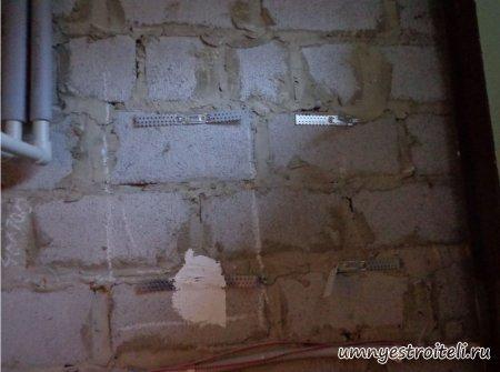 Как сделать окно в стене из шлакоблока