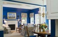 Идеи цвета для гостиной.
