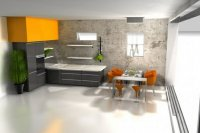Современный интерьер-дизайн кухни+фото