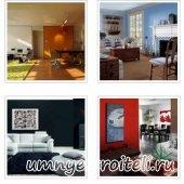 Картины для гостиных в интерьере- Фото.