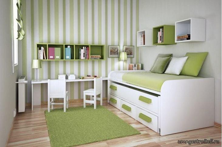 Дизайн интерьера спальня детская