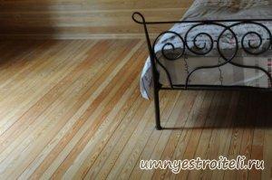 Підлога з модрини. Дошка з модрини