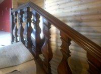 Деревянные балясины для лестниц.