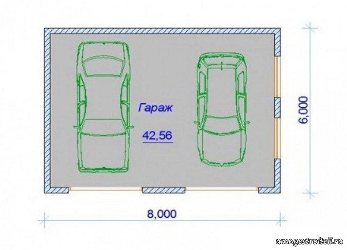 Какой ширины гараж на 2 машины куплю гараж в днепродзержинске левый берег