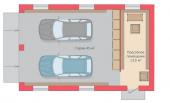 Строительство гаража на две машины.