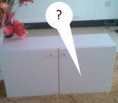 Как повесить на гипсокартон шкаф