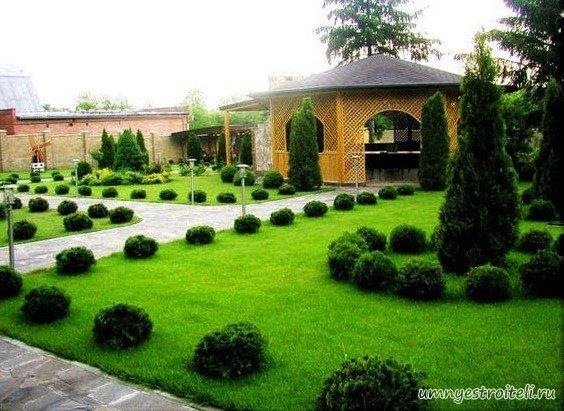 дворы частных домов фото