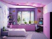 Ремонт комнаты для девочки + Фото