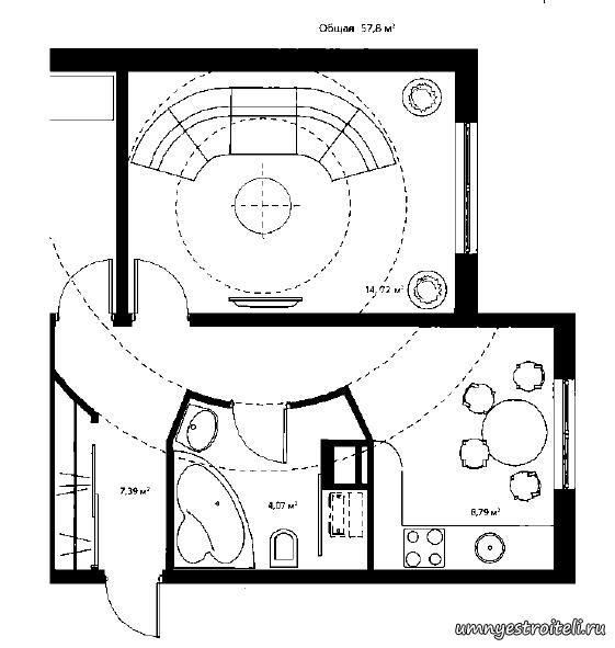 Идея дизайна новой квартиры