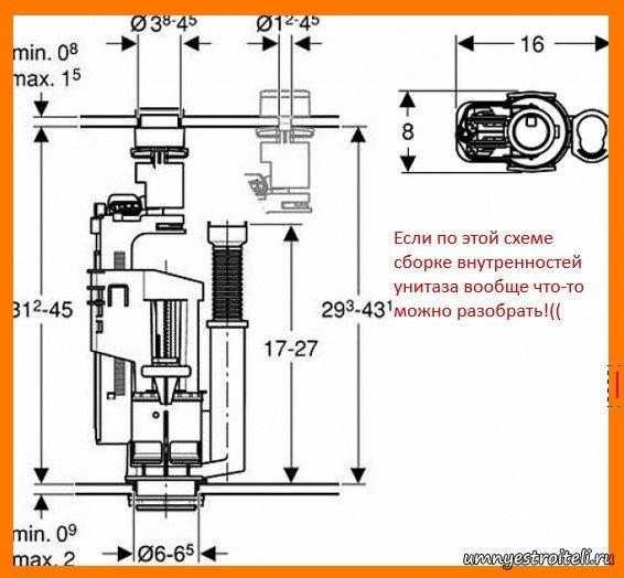 инструкция по сборке унитаза - фото 9