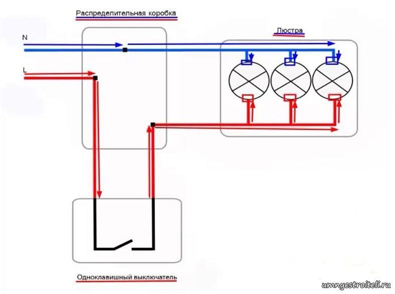 Как видим на схеме фаза