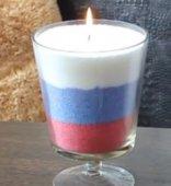 Насыпные свечи для дизайна и декора помещения.