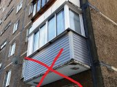 Нужно ли устанавливать отлив на низ французского балкона.