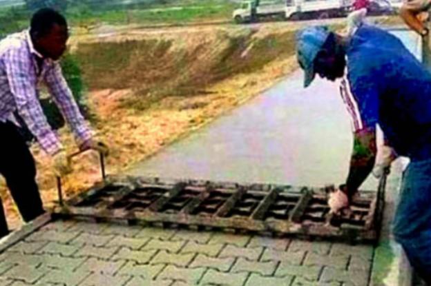 пошаговая инструкция по укладке тротуарной плитки - фото 10