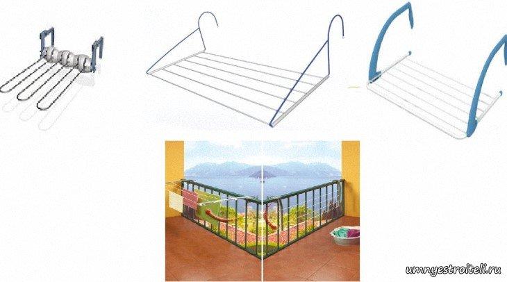 Сушилка на балкон - какую выбрать сушилку на балкон, виды су.