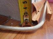 Напольный плинтус с кабель каналом.