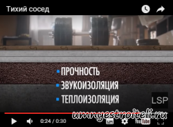 Видео - Прикольная реклама о гипсоволокне knauf супер лист.