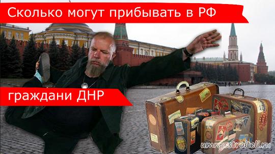 bf5c2b17d22d Сколько может находиться гражданин ДНР в Российской Федерации - 90 ...