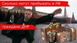Сколько может находиться гражданин ДНР в РФ.