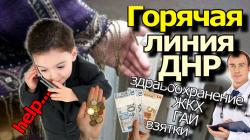 Горячая линия ДНР.